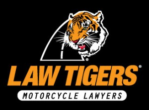 Law Tigers Stacked Logo Squared