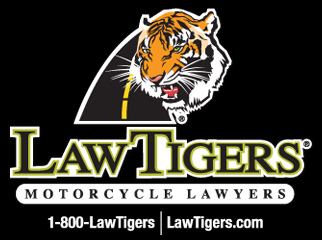 Law Tigers Logo Stacked